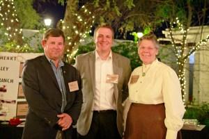 Left to right, Henry Zipf, Paul Chinnock and Barbara Marriott