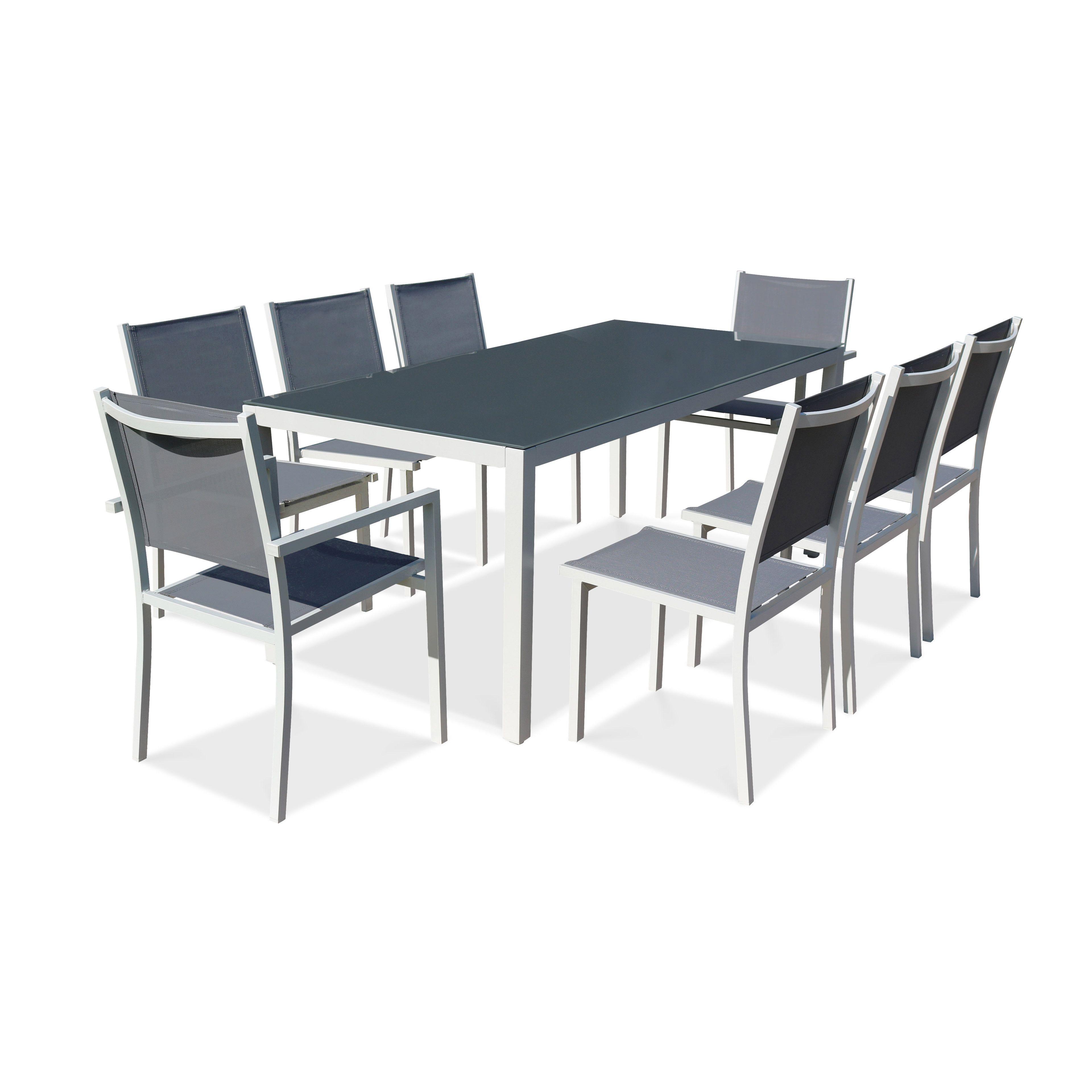 Table De Jardin Aluminium Discount   Mobilier Exterieur Restaurant ...