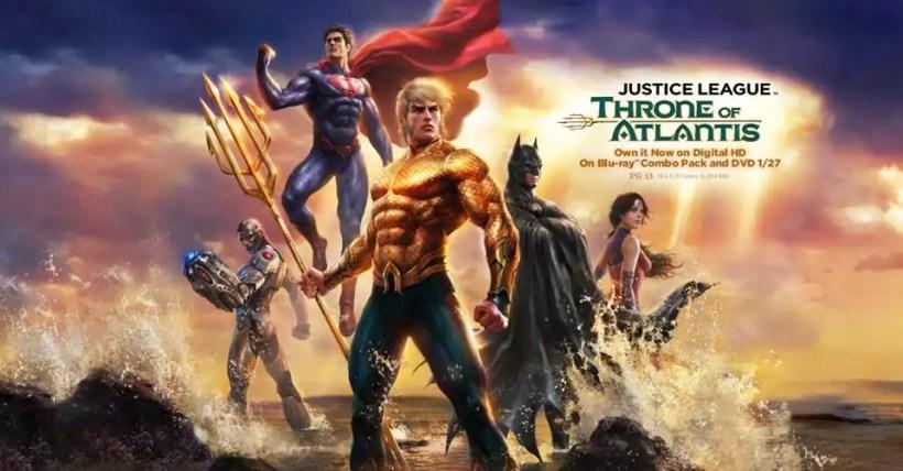 Justice League Throne Of Atlantis Stream Deutsch