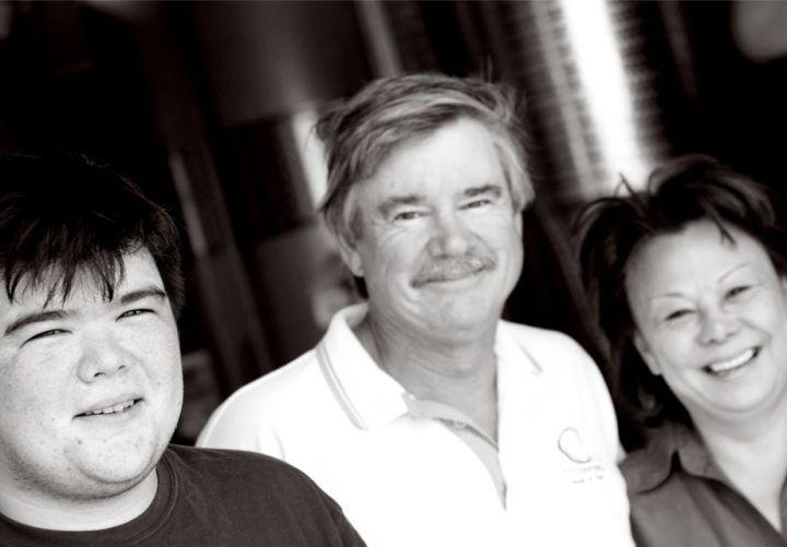 Ryan, Joe and Liz OConnell O'Vineyards