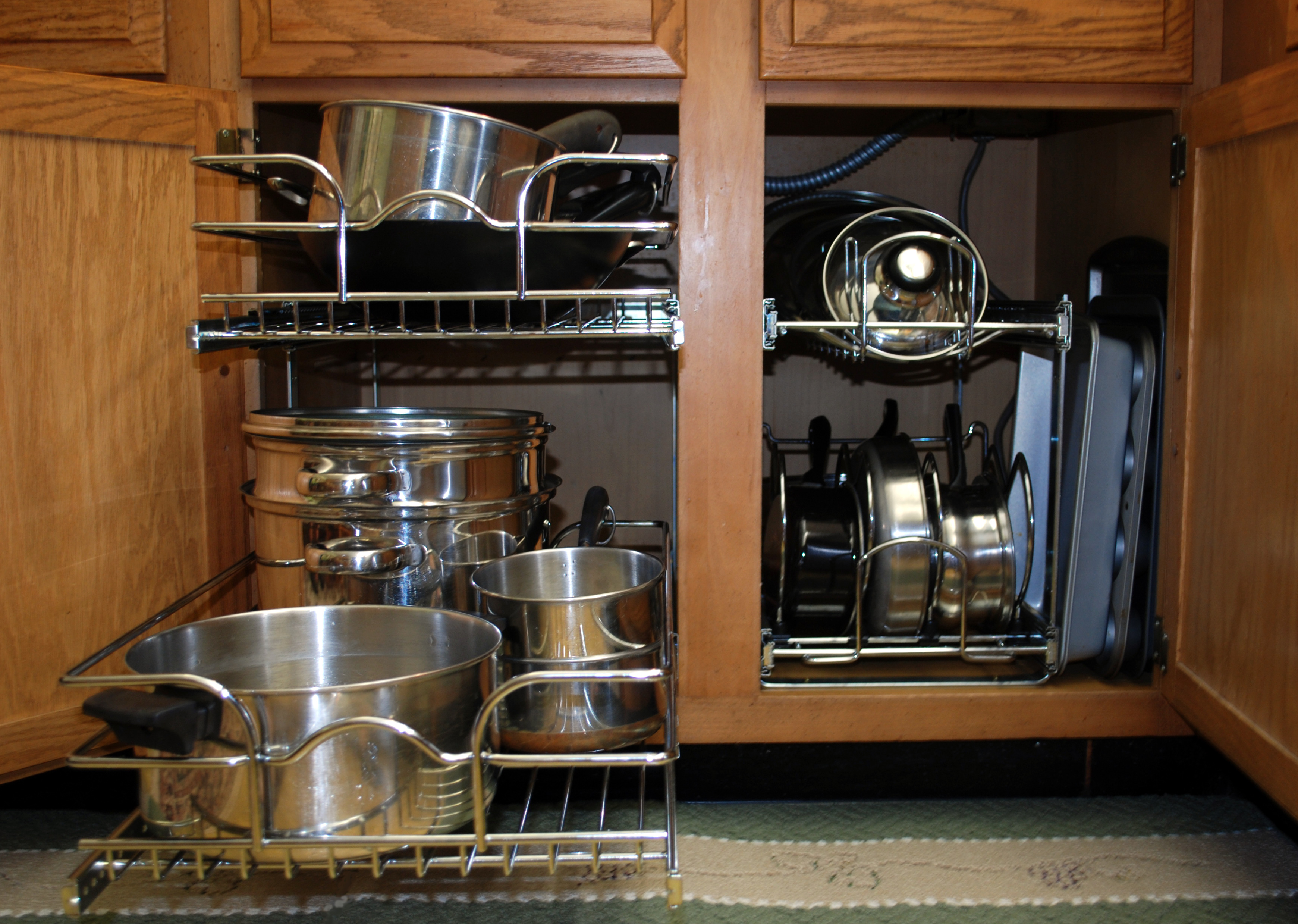 kitchen cabinets organizers built in trash cans for the ovisonline cabinet hardware and reinvent
