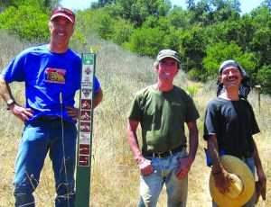 Kennedy canyon trail clearing