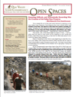 Open Spaces Newsletter – Summer 2013 (PDF)