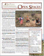 Open Spaces Newsletter – Winter 2011 (PDF)