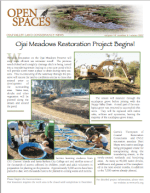Open Spaces Newsletter – Winter 2007 (PDF)