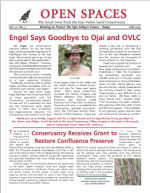Open Spaces Newsletter-Fall 2005 (PDF)