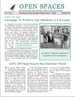 Open Spaces Newsletter – Spring 2000 (PDF)