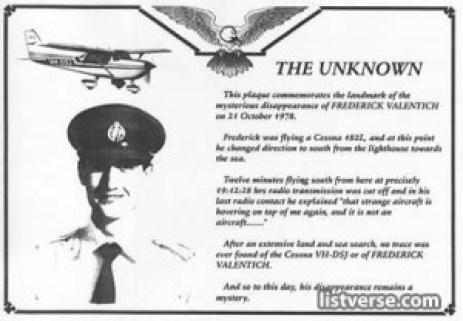 O desaparecimento de Frederick Valentich: Teria ele sido levado por um OVNI?