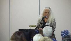 Dra. Carol Rosin em palestra na Conferência em Fênix.