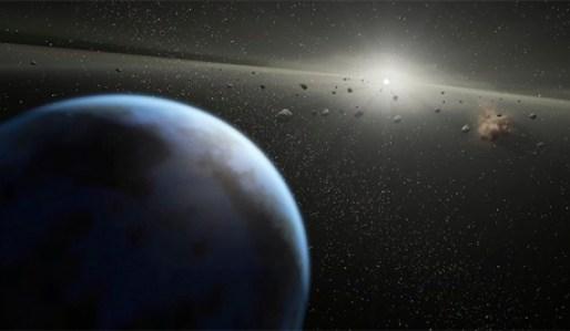 Rocha espacial gigante acaba de passar pela Terra