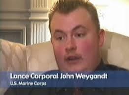 Cabo Jonathan Weygandt.