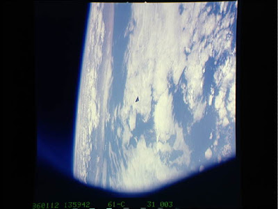 OVNI triangular filmado pela NASA 2