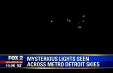 Onda de OVNIs avistados por várias testemunhas nos Estado Unidos