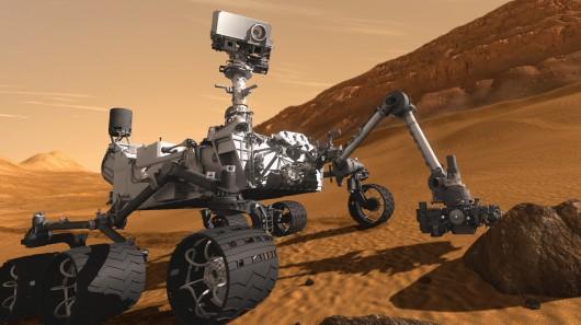 Jipe-sonda Curiosity, NASA.