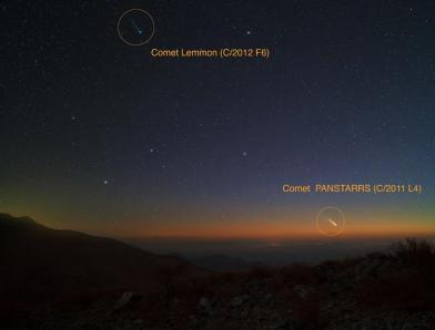 Dois cometas