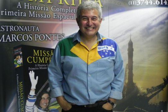 Ex-astronauta brasileiro, Marcos Pontes