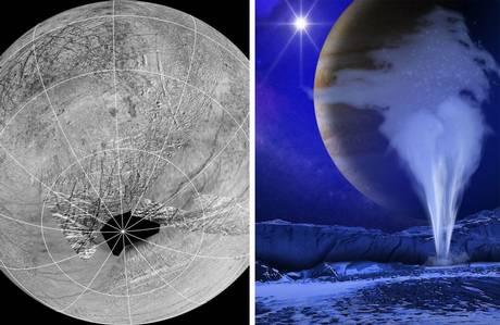 NASA enviará sonda até a superfície de Europa