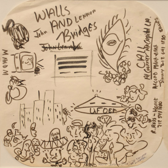 Lennon-UFO-Doodle