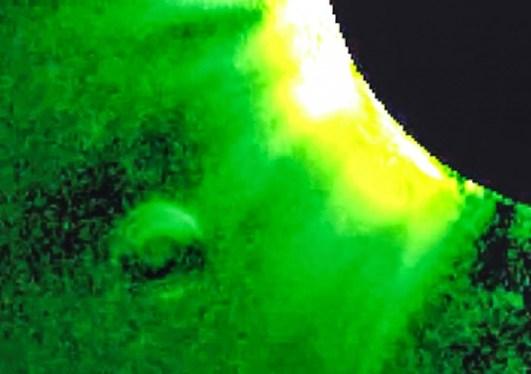 Source: http://helioviewer.org/?movieId=2wgX5 Camera: COR1-B