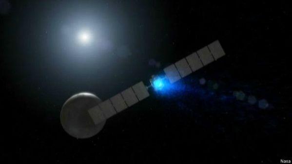 Sonda Dawn chegou ao planeta Ceres no início de março passado