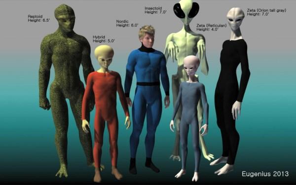 existência de alienígenas
