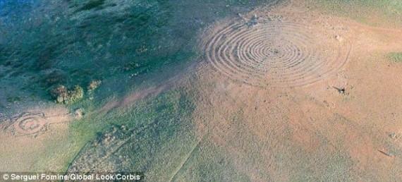 Vista aérea de Arkaim