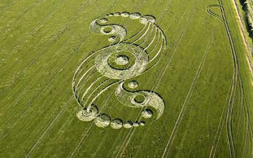 Agroglifo em Wiltshire