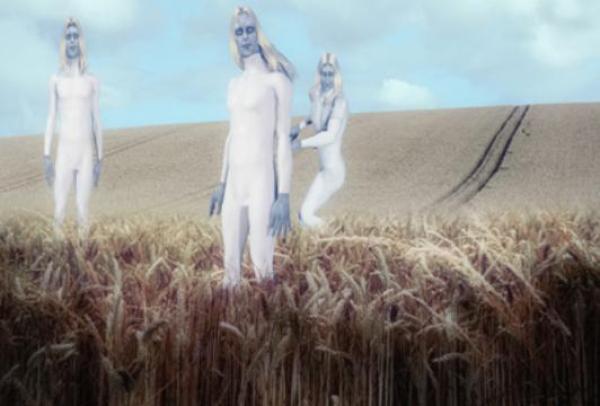 Alienígenas em agroglifo