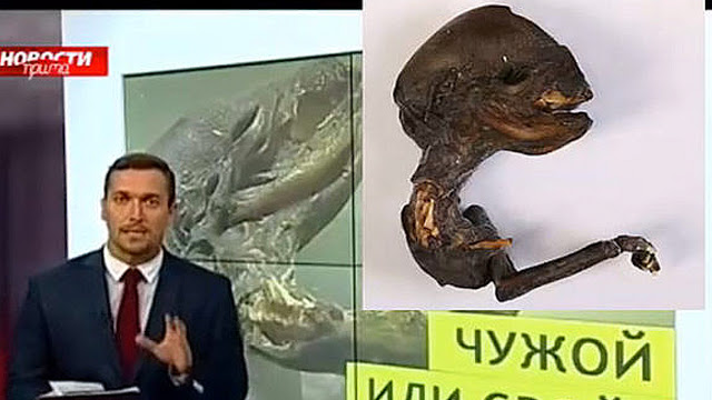 cadáver misterioso na Rússia