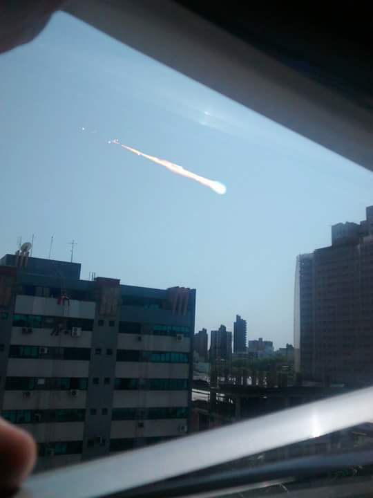 meteoro em Maringá