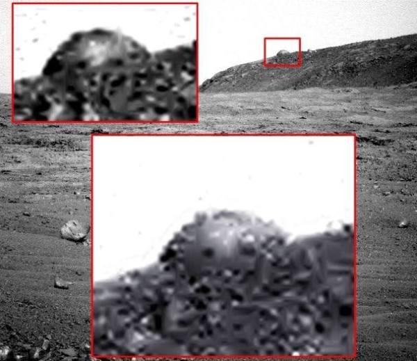 Cúpula em Marte
