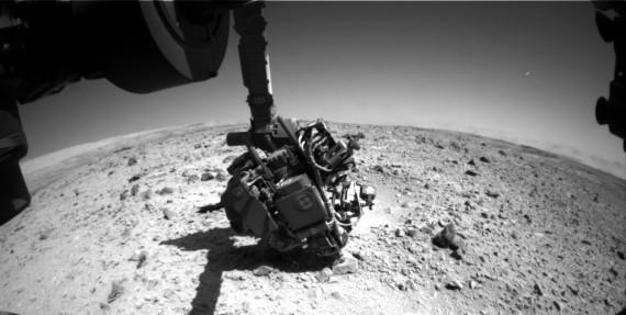 OVNI em Marte, janeiro de 2014