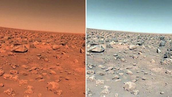 Qual é a cor real de Marte
