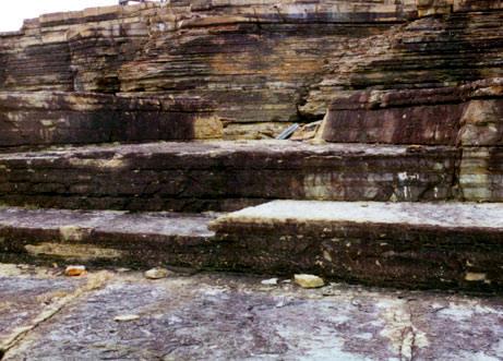 formação rochosa natural