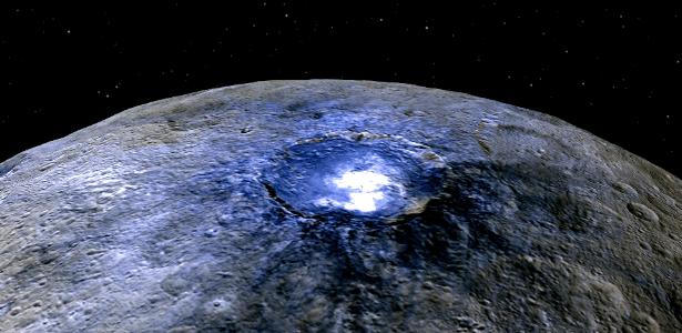 Ceres - matéria orgânica