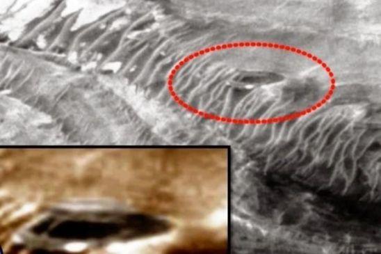 Nova estrutura em formato de cúpula é encontrada em Marte 2
