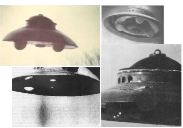 Fotografias das naves por Adamski