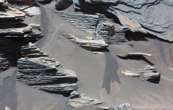 água em Marte, NASA quieta