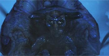 alienígena assustador