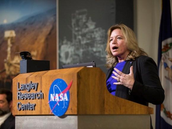 Ellen Stofan, Engenheira Chefe da NASA.