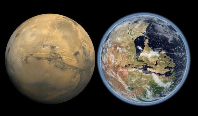 Marte poderá ser habitável novamente