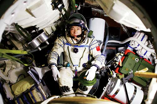 """Astronauta chines escutou """"batidas misteriosas no espaço"""""""
