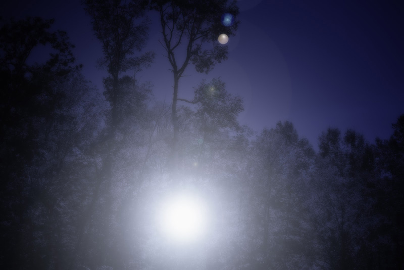 OVNI Luz em Neuquén. Possível contato alienígena na, Argentina