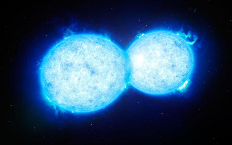 Colisão de estrelas poderá ser vista da Terra 2