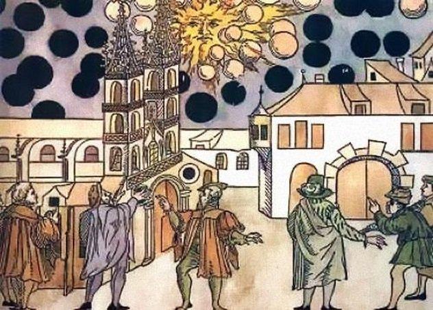 12 avistamentos fascinantes de OVNIs da história antiga 5
