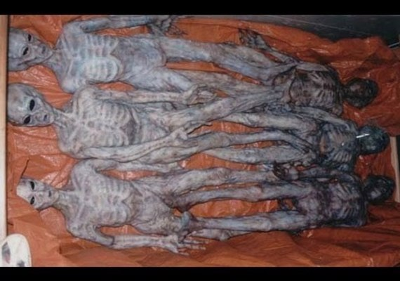 Corpos de alienígenas armazenados em cofres subterrâneos? 1