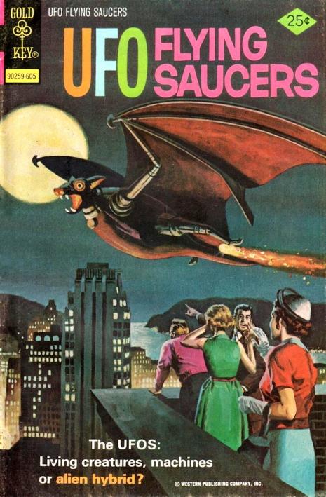 Capas fantásticas de revistas sobre OVNIs nas décadas de 60 e 70 12