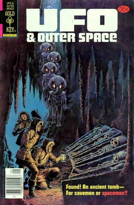 Capas fantásticas de revistas sobre OVNIs nas décadas de 60 e 70 15