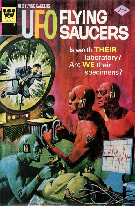 Capas fantásticas de revistas sobre OVNIs nas décadas de 60 e 70 8