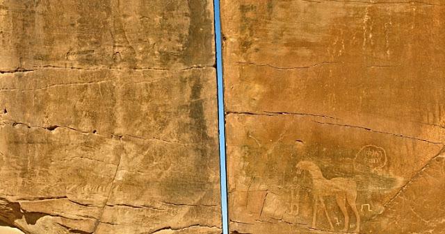 Conheça o antigo megálito de Al-Naslaa, dividido ao meio com precisão a laser. 1